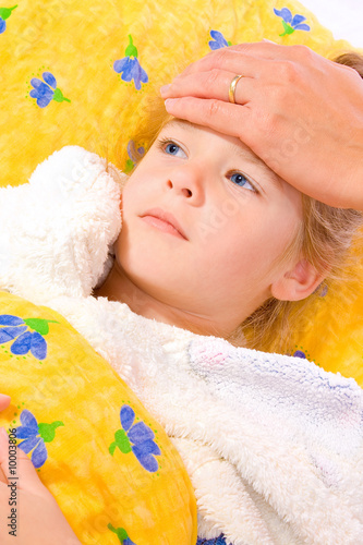 illness young girl