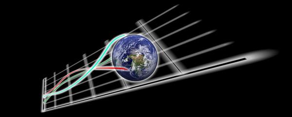 Graphique et planète Terre