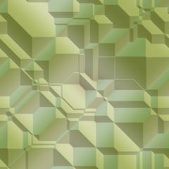 Smooth angular geometric abstract graphic design