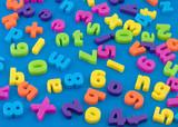 .Childrens,plastic magnetic alphabet letters