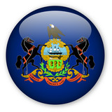 Pennsylvania state flag button