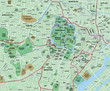 Tokyo Downtown City Map