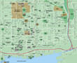 Toronto Downtown City Map