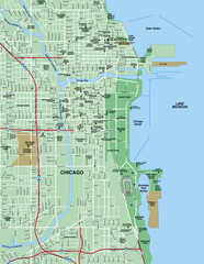 Chicago, IL Map