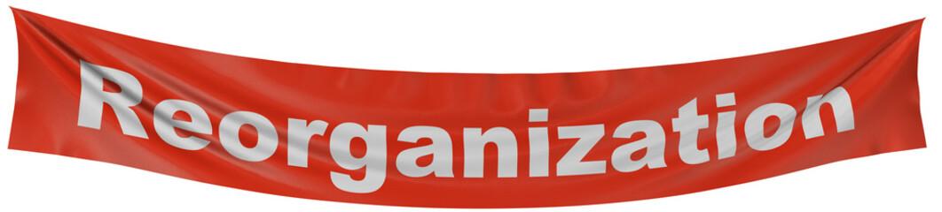 reorganization banner