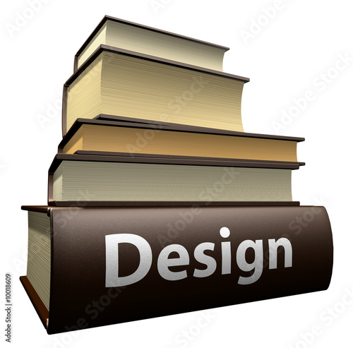 Education books - design