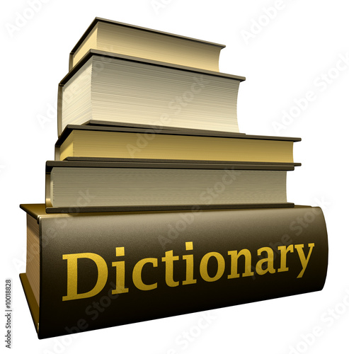 Education books - dictionary