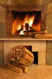 Fototapety Fireplace