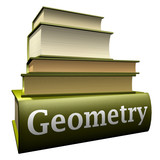 Education books - geometry poster