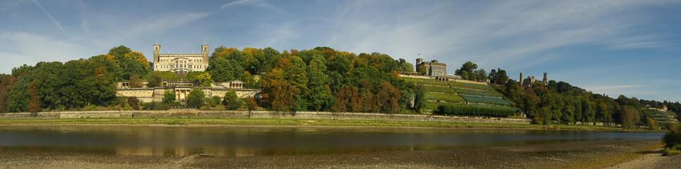 Dresden Elbschlösser - Dresden palaces on river Elbe 01