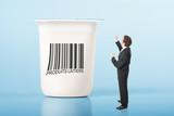 lait yaourt laitier produit calcium os nutrition santé corps sai poster