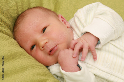 newborn baby - 8 days old baby