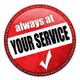 always at your service poster