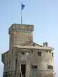 château médiéval de la ville de Rapallo en Italie