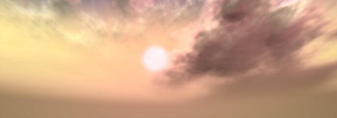絵画的な空 パノラマ