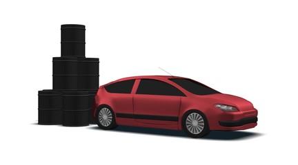voiture pétrole