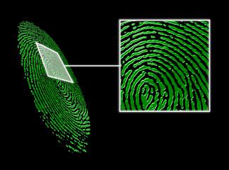 Scansione impronta digitale