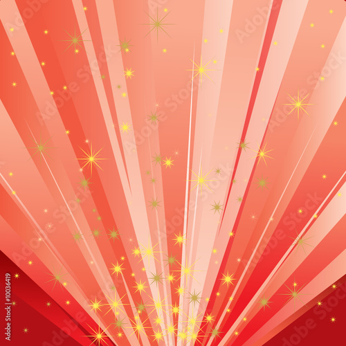 Magic Light (Abstract Magical Background)