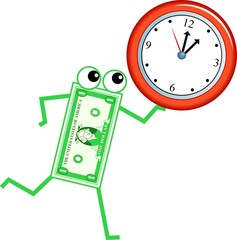 clock dollar