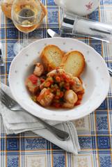 Spezzatino di Coda di rospo - Secondi pesce - Ricette Veneto