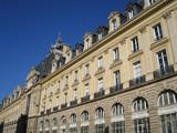 façades en arcades à paris poster