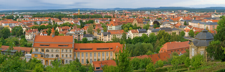 Panoramic View of Bamberg. Bavaria, Germany
