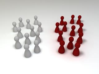Gruppenbildung - red edition