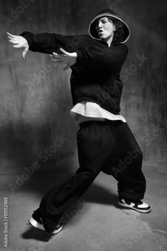 Rockin a line of hip hop