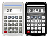 Two Calculators (Debt and Debt Free) poster