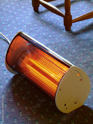 Glowing Electric Heater