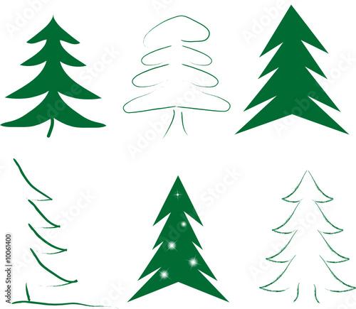 Weihnachsbaum Bäume