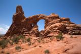 Der Turret Arch im Arches National Park in Utah poster