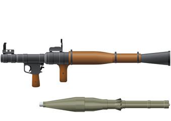 Lance-roquette RPG-7 (détouré)