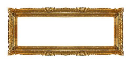 giant massive golden old frame