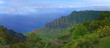 Aerial View of Kauai Hawaii Coastline With Bright Colors