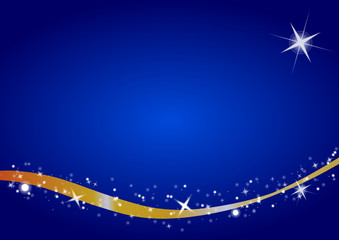 blue merry christmas background