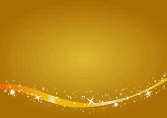 gold merry christmas background