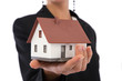 real estate concept in business with businesswoman