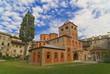 Griechisches Kloster Filotheou auf dem Berg Athos, Chalkidiki
