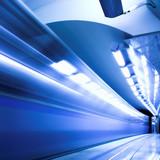 Fototapeta Metro - Ruch - Tunel / Podziemie