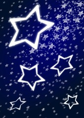merry christmas stars, background