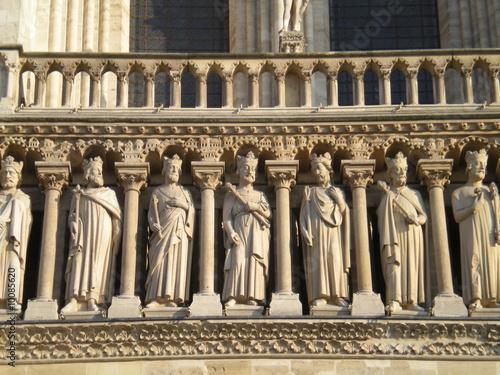 Galerie des rois - Notre-Dame de Paris