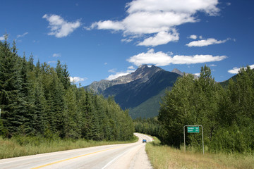 Mount Revelstoke National Park of Canada