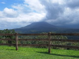 The Arenal Volcano in Costa Rica poster