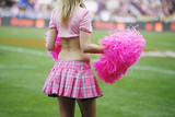 Cheerleaders pom-pom girl
