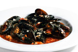 Mussels Bowl with Spice Sauce poster