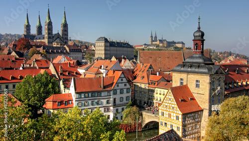 Leinwanddruck Bild Bamberg