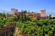 Alhambra at morning, Granada, Spain