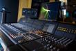 Leinwandbild Motiv Recording Studio 5