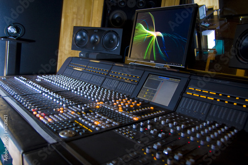 canvas print picture Recording Studio 5